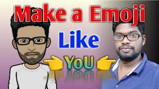 How To Make #Emojis Like You |make cartoon emoji avatar