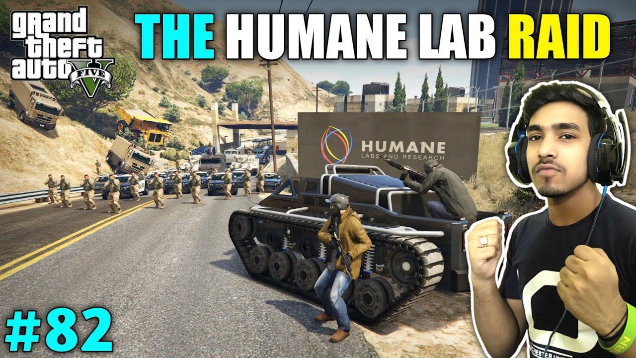 Download RAID ON HUMANE LAB FOR SAVING TREVOR   GTA V GAMEPLAY #82