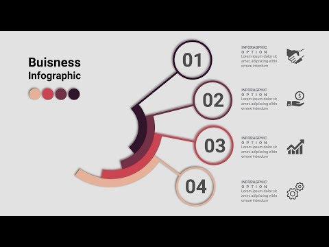 Business Infographics Creative Design Vector | Free Download | Illustrator Tutorial