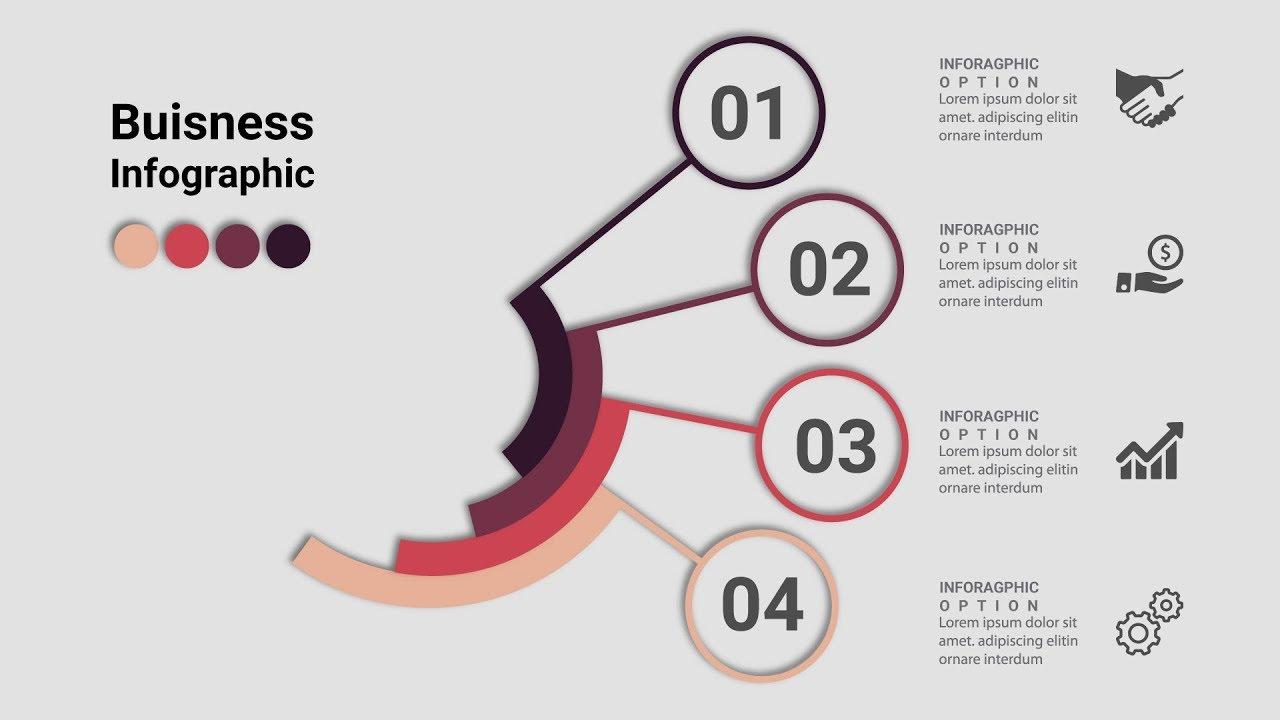 business infographics creative design vector