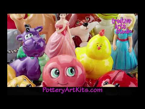 Pottery Art Kits by Creative Arts Studios Order Online
