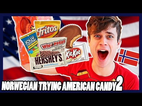 Norwegian trying American Candy 2