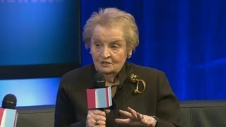 Madeleine Albright: Nuclear Iran, Containment Not Option