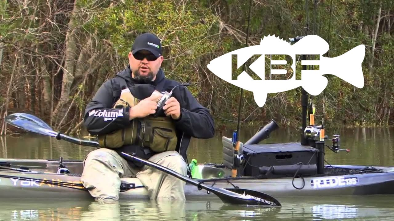 Kayak bassin tv season 2 episode 4 south carolina for Carolina fishing tv