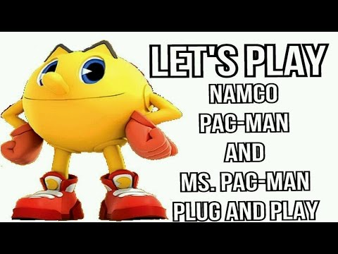 Let's Play: Namco Pac-Man And Ms. Pac-Man Plug And Play