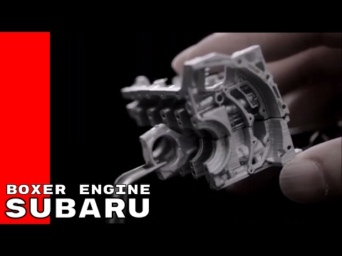 Subaru Boxer Engine Production and History