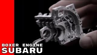 Subaru Boxer Engine Production and History