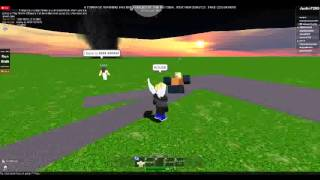 ROBLOX Storm Chasers - Season 2 - Part 19 - Chasing With Frieza567 And Tornado Hits Red House