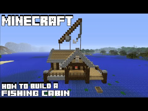 Minecraft Tutorial: How To Make A Fishing Hut
