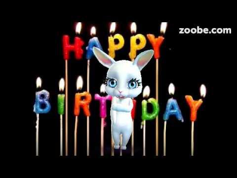Hase Zoobe Zum Geburtstag Youtube