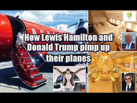 how-lewis-hamilton-and-donald-trump-pimp-up-their-planes