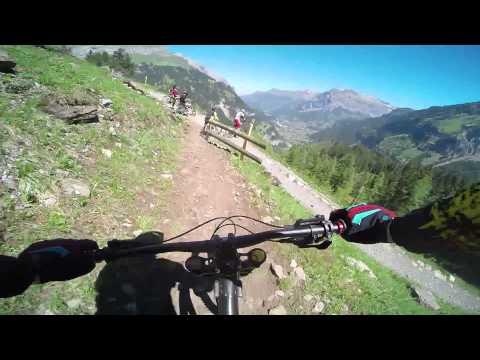 Freeridetrail Sunnbüel Kandersteg - First Ride