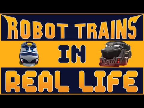 🚅 Robot Trains In Real Life 2020🚅 KAY & Friends ❤️