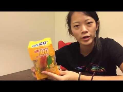 マレーシアのお土産で人気らしいLOT100マンゴーグミ!inマレーシア*コタキナバル/DELICIOUS GUMMY in Malaysia
