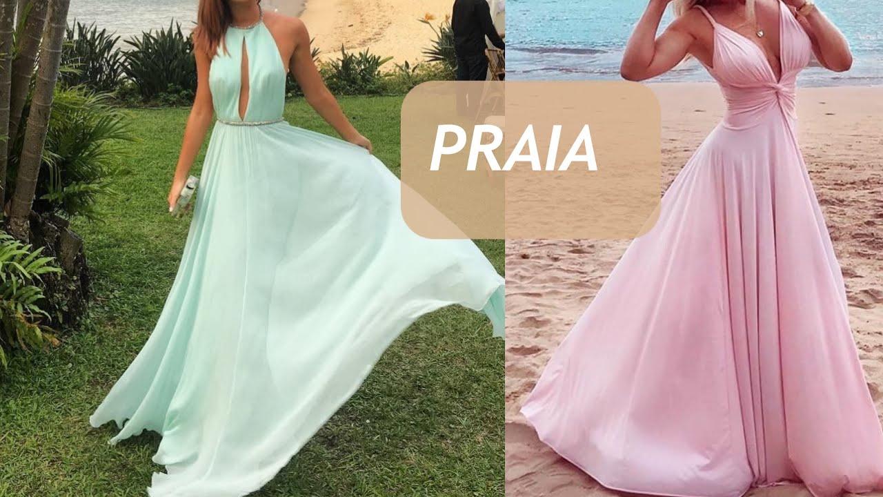 Madrinha De Casamento Na Paria Como Usar Vestido Longo Na Praia