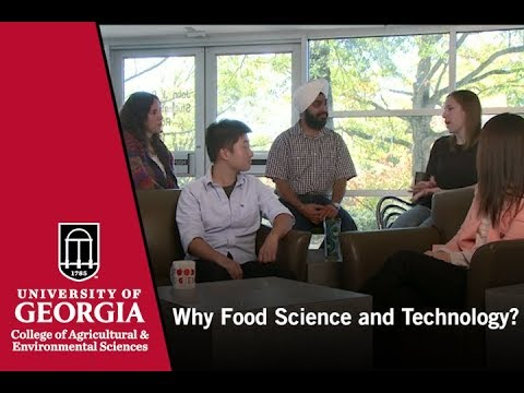 Food Science and Technology  Graduate Students: Why I came to Georgia