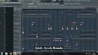 FL Studio - Avicii - Levels (Radio Edit) - Remake
