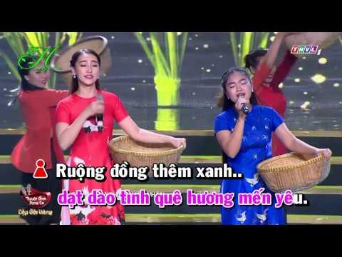 [Karaoke] Mưa Trên Quê Hương - Cao Công Nghĩa Ft Thiện Nhân