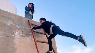 أختي الصغيره وقعت في خزان مياه في الدور 17 شوفوا أمي عملت اي 😭