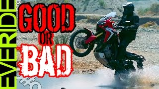 Does the Honda CRF1000L AFRICA TWIN Ruin ADV? o#o