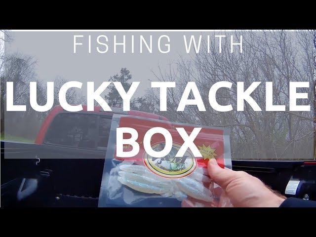 Fishing with Lucky Tackle Box