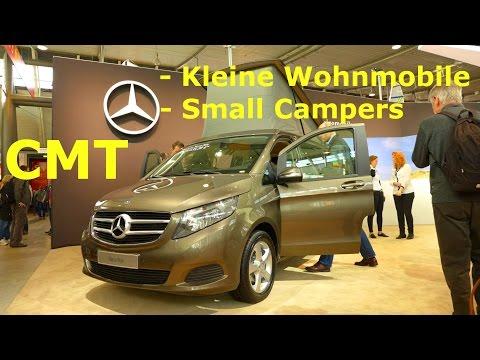 CMT Stuttgart 2015 -Kleine Wohnmobile -Small Campers (HALLE 5) Die Urlaubs-Messe / fair