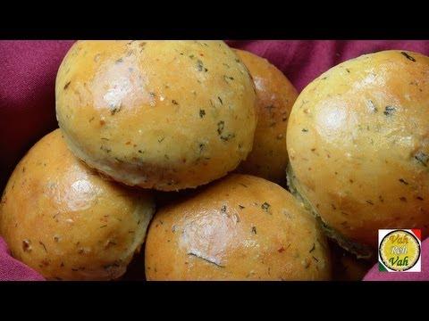 Masala Bread Rolls  - By Vahchef @ vahrehvah.com