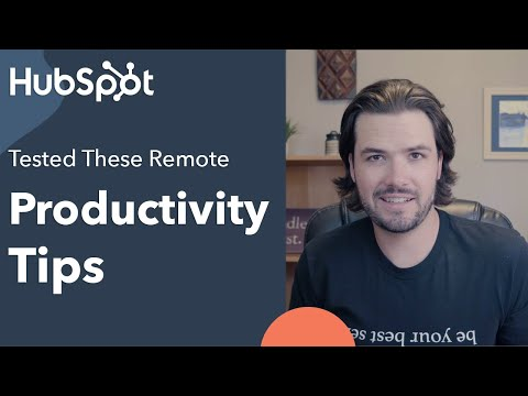 I Tested These Three Remote Productivity Tips