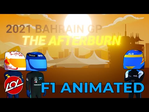 2021 Bahrain GP - Post-Race - Formula 1 Animated Comedy