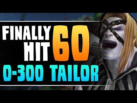 Hitting Level 60 - MAXING TAILORING in 3 HOURS?! - Destruction Warlock Leveling | WoW Classic Cobrak