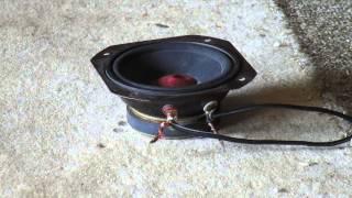 Aiwa Speaker Blowout