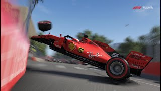 F1 2019: Baku is Brutal with Full Damage