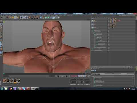 Face Rigging Problem - Character Animation / Rigging - C4D Cafe