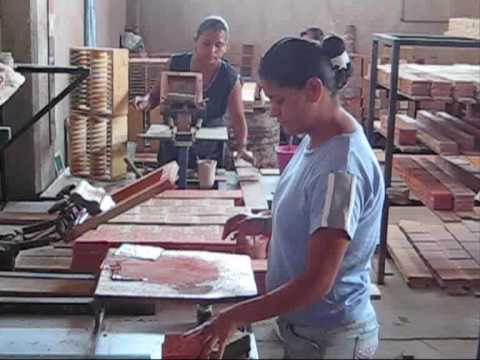 Mexican Tiles - manufacturing process of hand painted tiles from ...