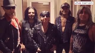 Scorpions 天蠍合唱團 2016 台北演唱會問候影片