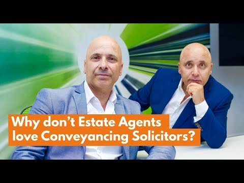 Why Don't Estate Agents Love Conveyancing Solicitors?