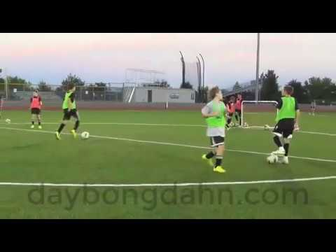 Dạy bóng đá – bài tập đối kháng