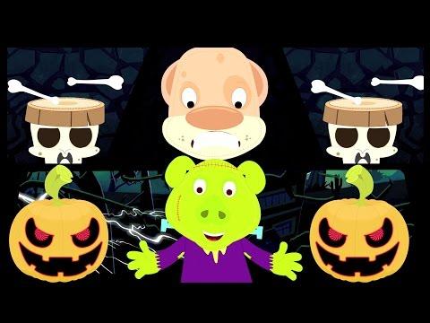 привет это Хэллоуин | Потешки | дети песни | страшная песня | Nursery Rhyme | Hello Its Halloween