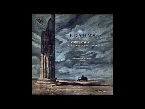 "Brahms ""Piano Concerto No 1"" Friedrich Wührer"