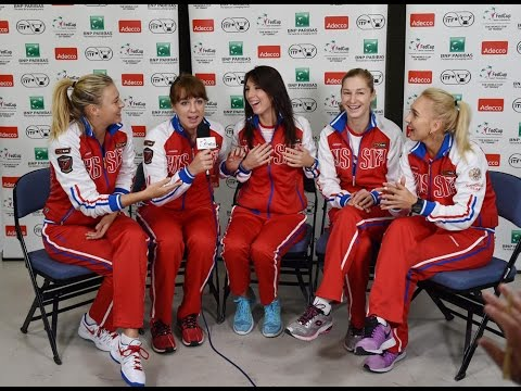 2015 Fed Cup Final: Team Russia quiz