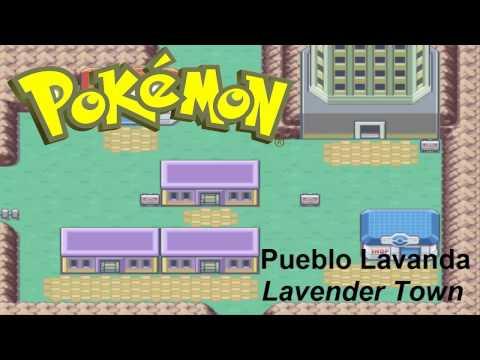Pokemon Rojo Fuego y Verde Hoja - Musica de Pueblo Lavanda