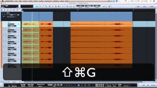 Joe Gilder's Studio One Tutorial Series Episode 31: Folder Tracks are AWESOME!