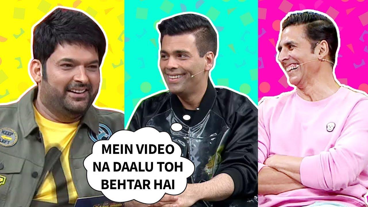 Kapil's Questions For Karan Johar    The Kapil Sharma Show Season 2