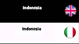 SAY IT IN 20 LANGUAGES = Indonesia