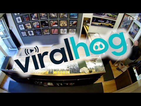Watch Shop Owner Fends Off Robbers    ViralHog