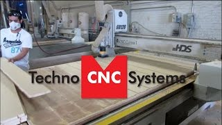 Nested Based Parts On A Techno Cnc Router