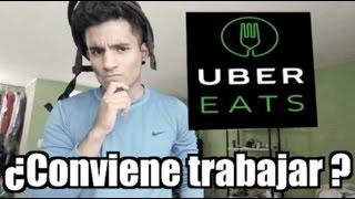 Cómo trabajar en Uber Eats