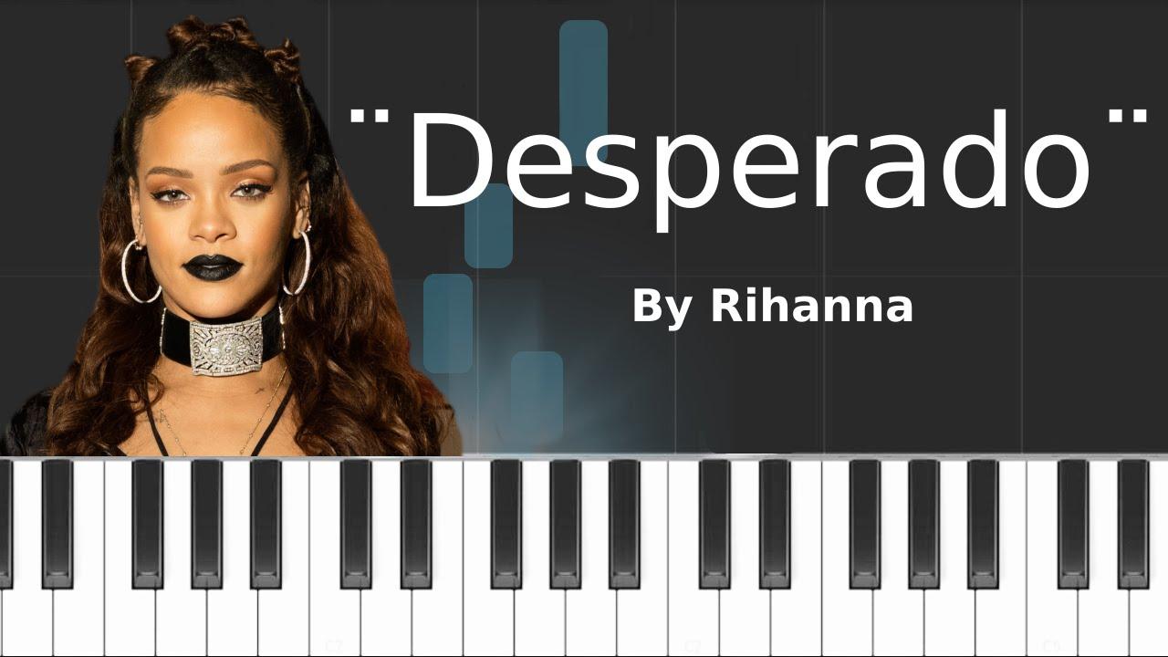 Desperado sheet music download free in pdf or midi.