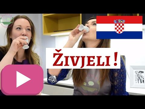 Trying RAKIJA AND DOMAĆICA   Croatian Schnaps and Biscuits