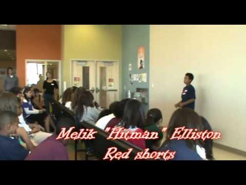 Melik Elliston presentation at High Point Academy
